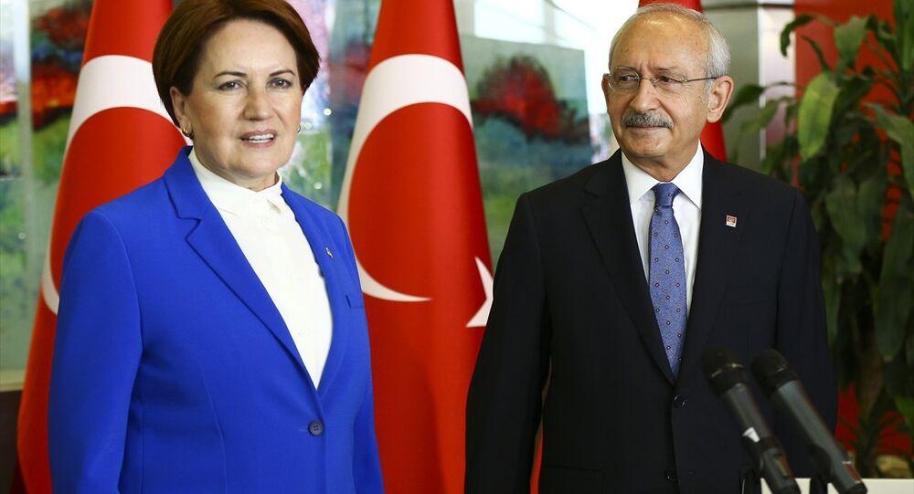 Cumhuriyet Halk Partisi (CHP) Genel Başkanı Kemal Kılıçdaroğlu- İYİ Parti Genel Başkanı Meral Akşener
