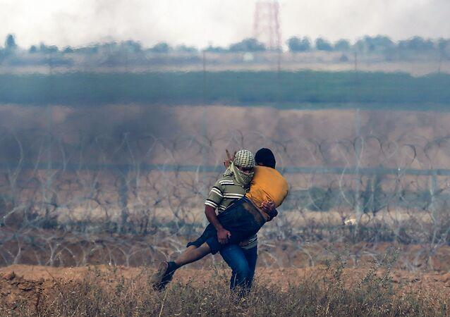 İsrail-Gazze sınırı