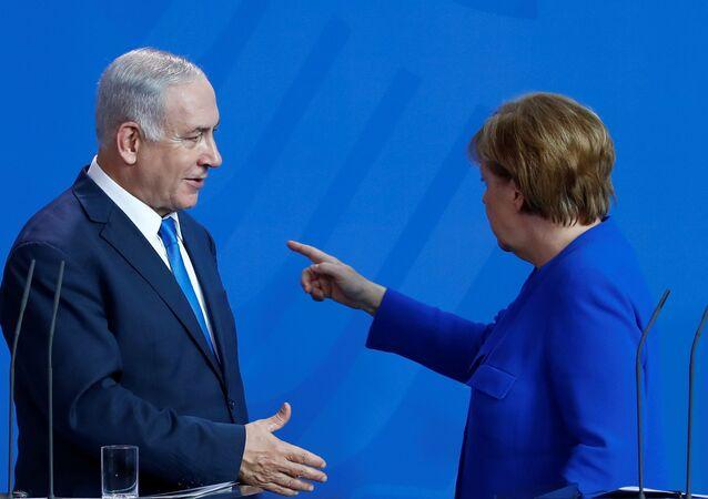 Angela Merkel-Benyamin Netanyahu