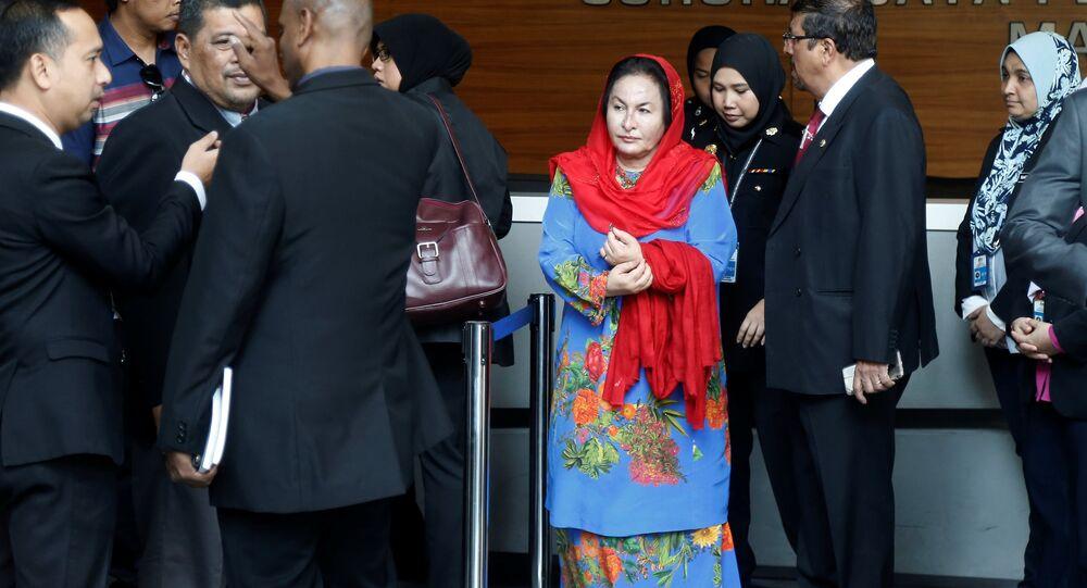 Eski Malezya Başbakanı Necip Rezak'ın eşi Rosmah Mansor