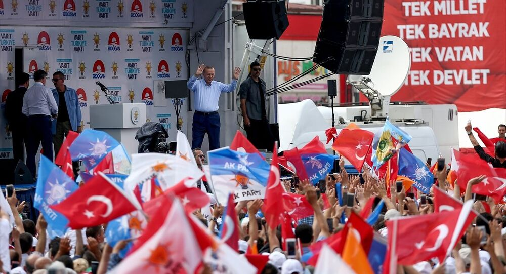 Recep Tayyip Erdoğan, Sakarya mitingi