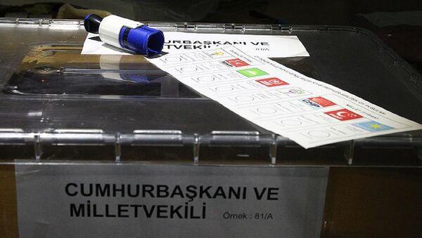 Seçim, sandık, 24 Haziran - Sputnik Türkiye