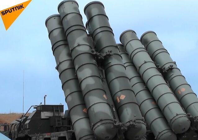 Rusya'dan Kırım'da S-400'lü tatbikat