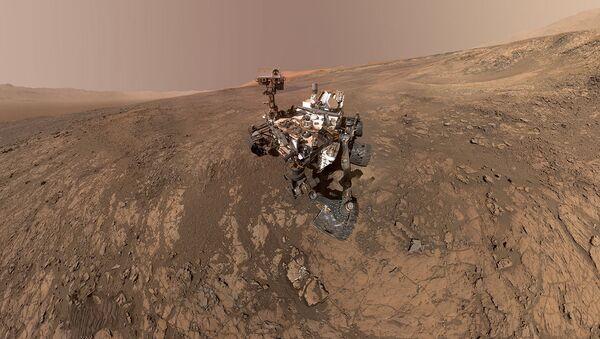 NASA'nın keşif aracı Curiosity'nin çektiği son Mars görüntüsü - Sputnik Türkiye