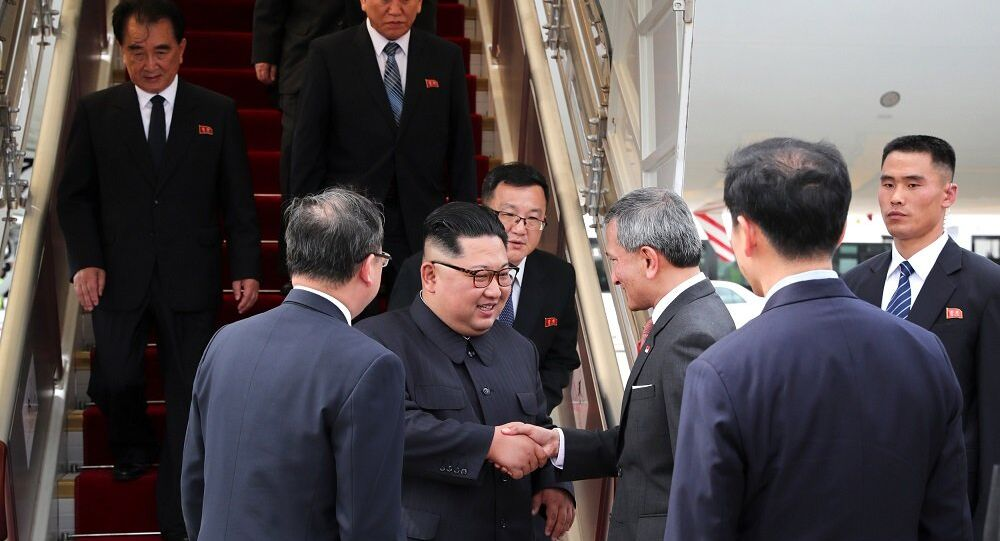 Kim Jong-un - Singapur