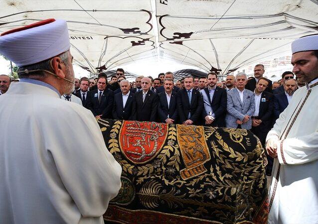 Erdoğan Demirören cenaze