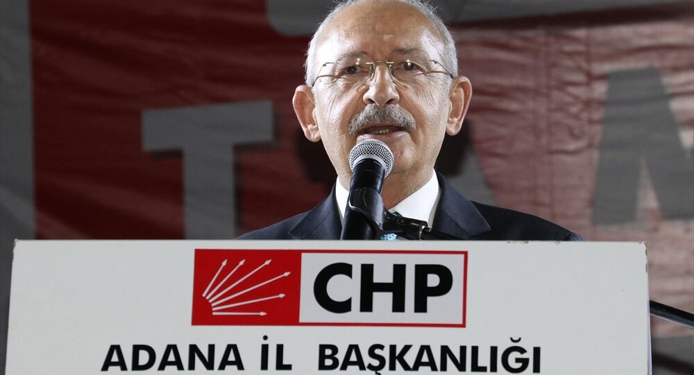 CHP Genel Başkanı Kemal Kılıçdaroğlu Adana'da