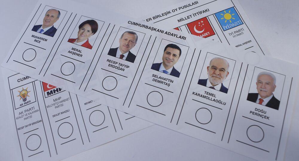Cumhurbaşkanı adayları, 24 Haziran