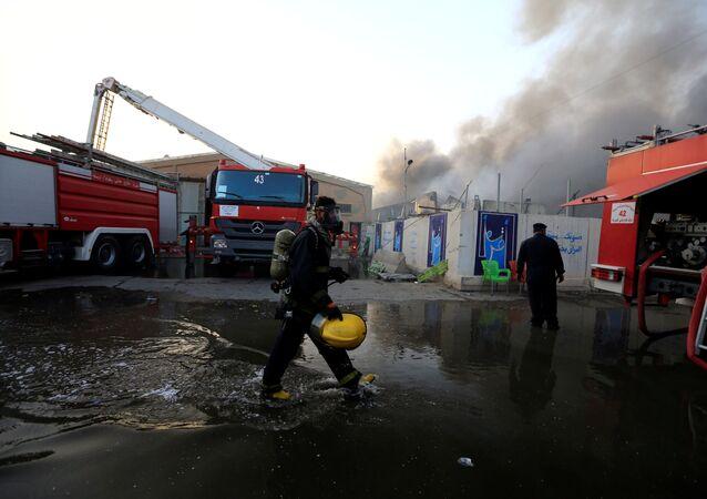 Irak- Seçim- Yangın