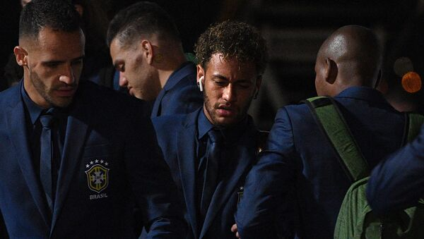 Brezilya- Neymar- Dünya Kupası - Sputnik Türkiye