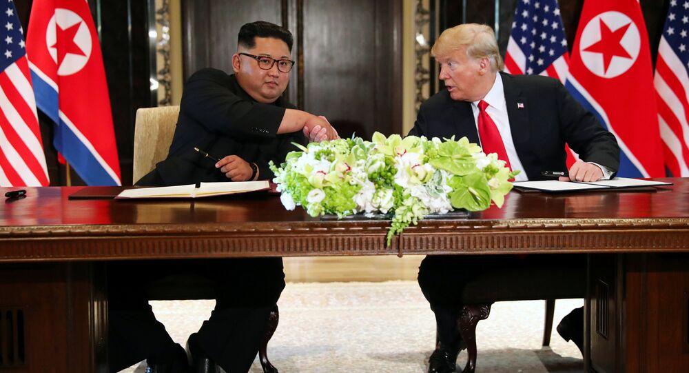 Kim ve Trump