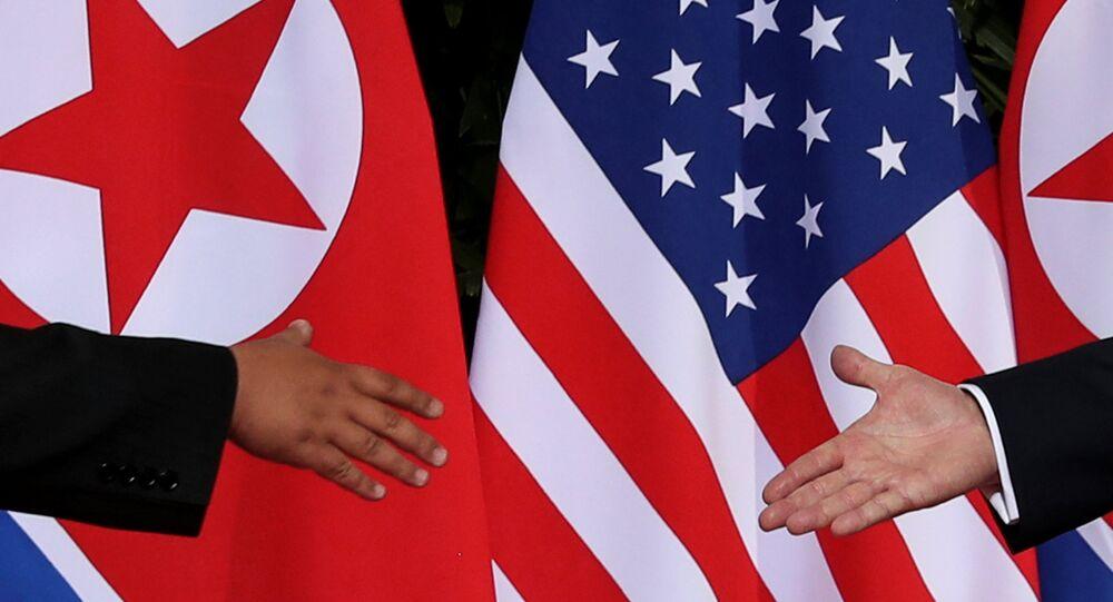Kuzey Kore lideri Kim Jong-un-ABD Başkanı Donald Trump
