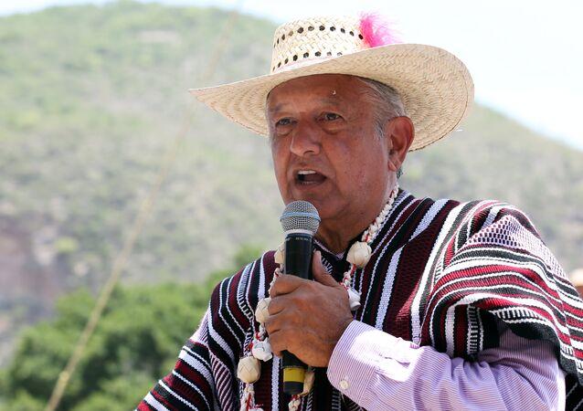 Andres Manuel Lopez Obrador, namı diğer 'Amlo' ya da 'El Peje' yani 'Timsah Zargana'