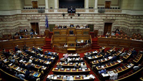 Yunanistan Parlamentosu - Sputnik Türkiye