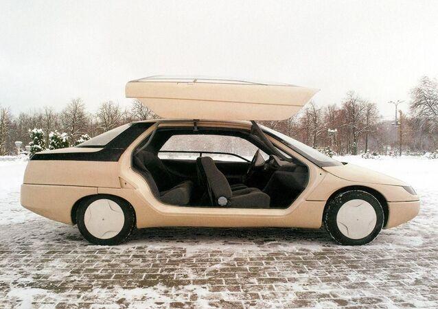 Sovyetler döneminden kalma konsept araç tasarımları