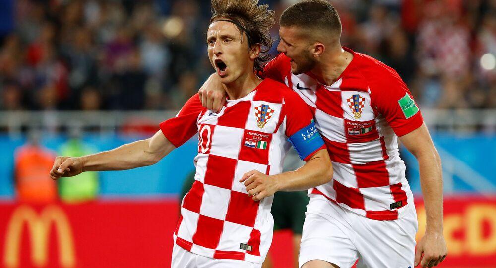 Hırvatistan Nijerya'yı mağlup etti