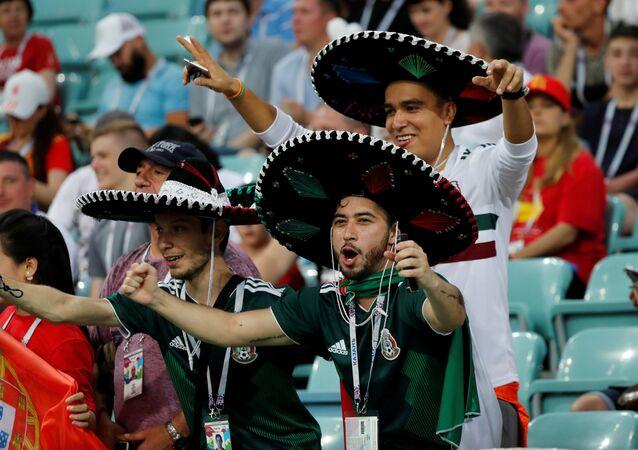 Meksika taraftarı