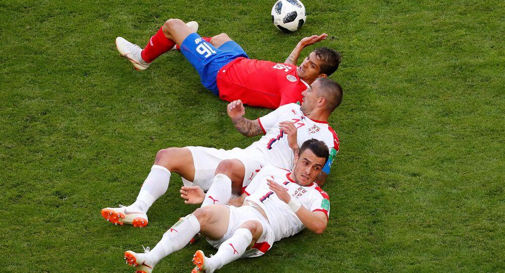 Sırbistan - Kosta Rika maçı - 2018 FIFA Dünya Kupası