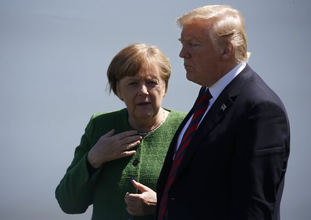 G7 zirvesi geriliminde Merkel ile Trump