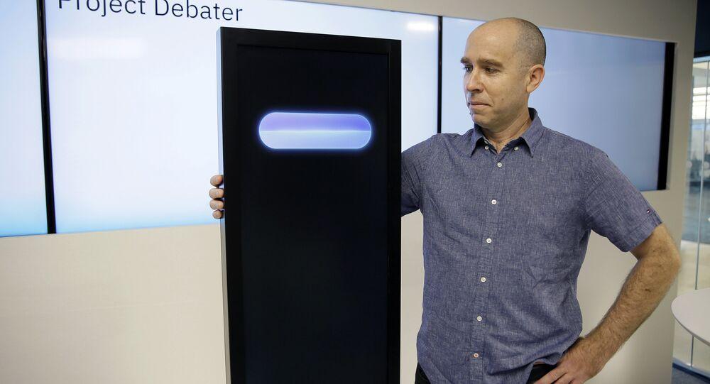 IBM'in ürettiği tartışan yapay zeka 'Project Debater'