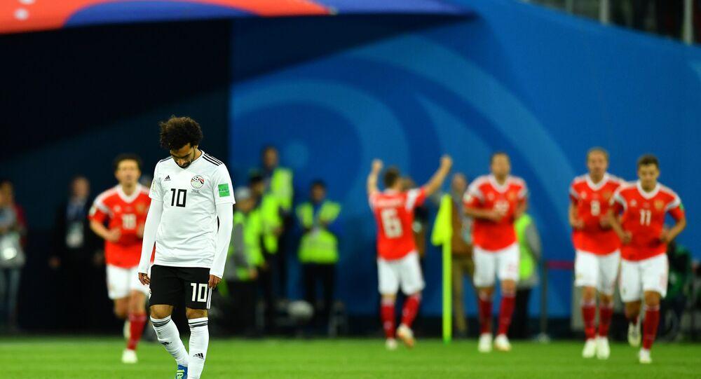 Rusya, Mısır Dünya Kupası maçı