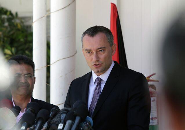 United Nations' Middle East peace envoy, Nickolay Mladenov
