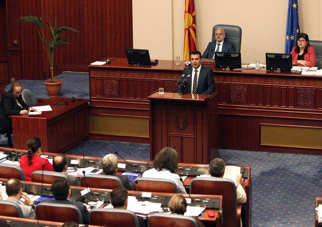 Makedonya Başbakanı Zoran Zaev