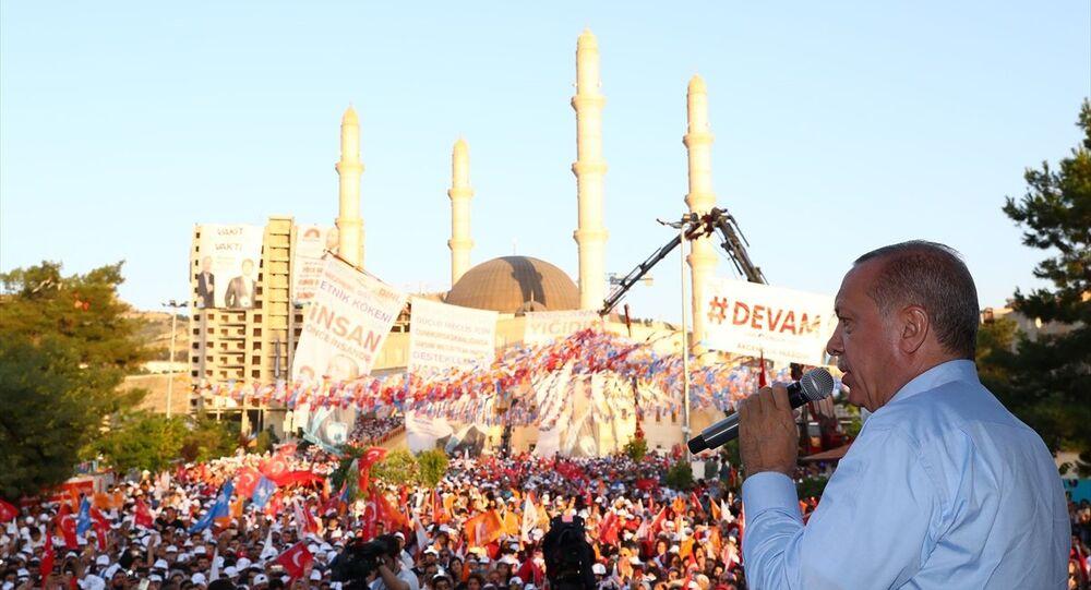 Erdoğan Mardin mitinginde
