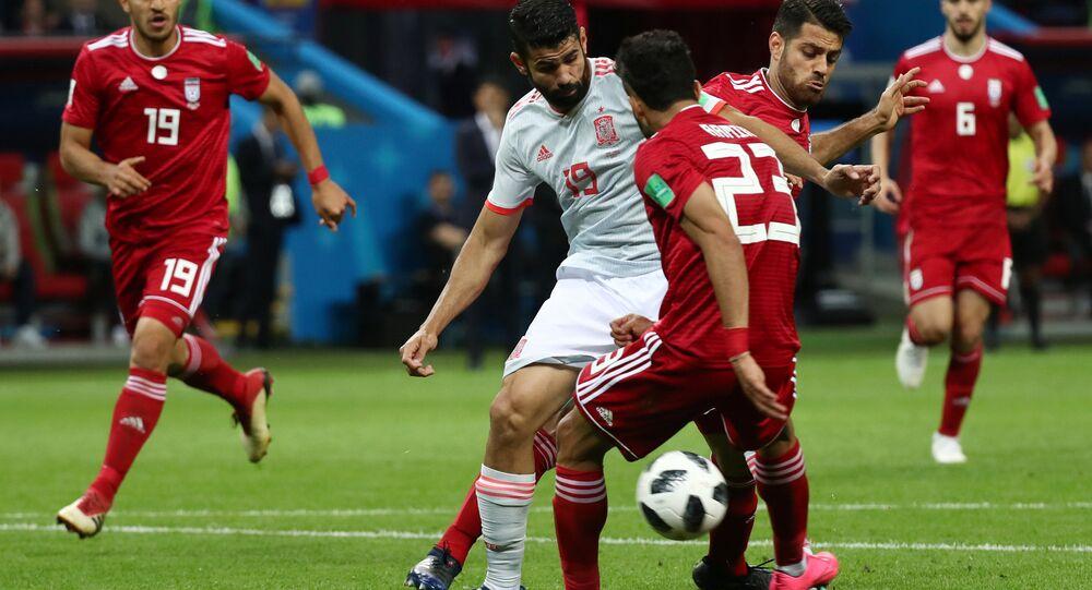 Dünya Kupası'nda İspanya, İran karşısında