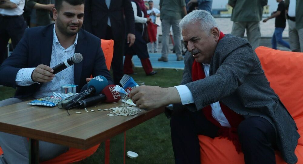 Başbakan Binali Yıldırım İzmir'de