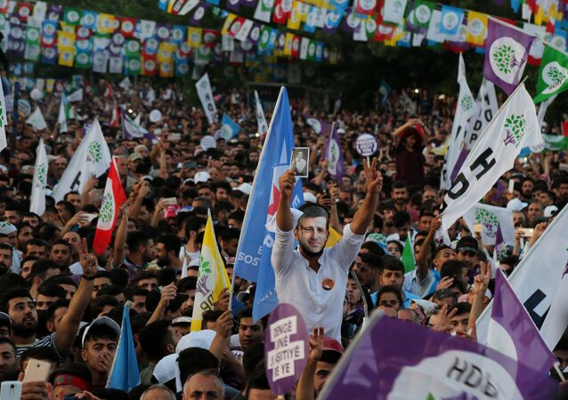 HDP'den Diyarbakır'da miting