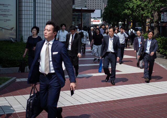 Japonya-Çalışanlar