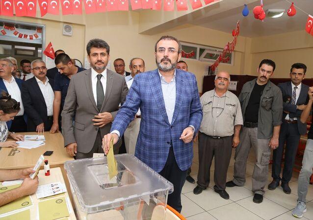 AK Parti Genel Başkan Yardımcısı ve Parti Sözcüsü Mahir