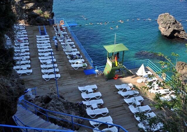 Antalya, sahil, plaj