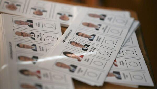 24 Haziran seçim, oy, pusula - Sputnik Türkiye