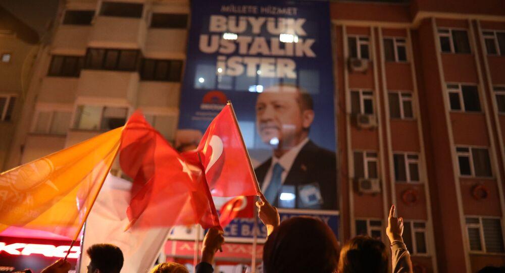 AK Partililer, Erdoğan'ın zaferini kutluyor