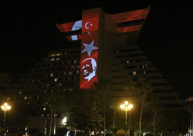 Katar, Erdoğan'ın zaferini böyle kutladı