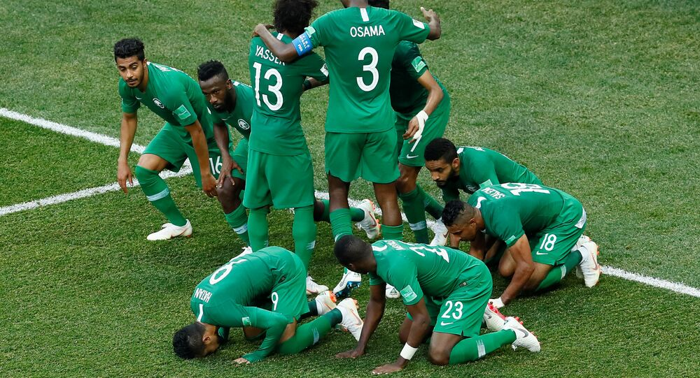 2018 FIFA Dünya Kupası'nda kendi çapında tarihe geçen maçta Suudi Arabistan, Mısır'ı 2-1 yendi