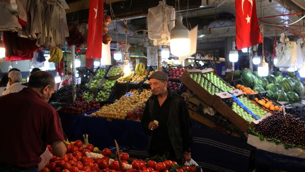 Enflasyon, pazar, sebze, meyve - Sputnik Türkiye