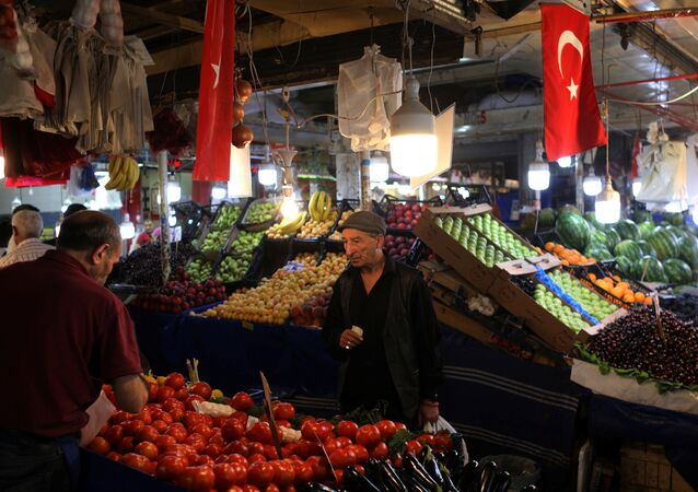 Enflasyon, pazar, sebze, meyve