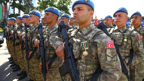 Törende, Türk Kara Kuvvetleri'ne bağlı askeri birlikler de yer aldı. - Sputnik Türkiye