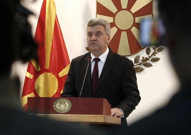Makedonya Cumhurbaşkanı Gyorge İvanov