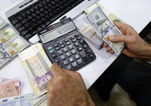 İran parası - dolar - döviz