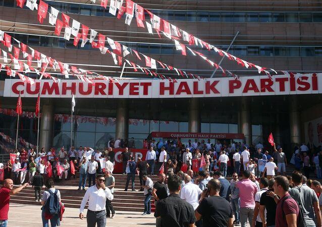 CHP'lilerin oturma eylemi sona erdi