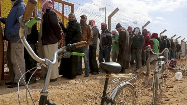 Ürdün-Suriyeli mülteciler - Sputnik Türkiye