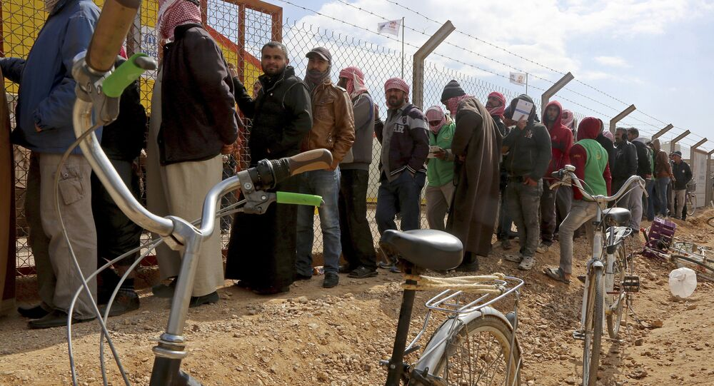 Ürdün-Suriyeli mülteciler