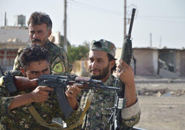 YPG'nin omurgasını oluşturduğu DSG güçleri Rakka'da