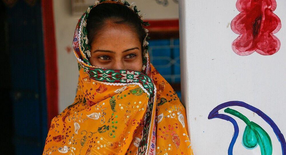 India woman