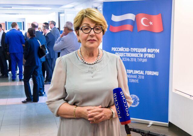 Moskova'daki Rus-Türk Dostluk Akşamından kareler