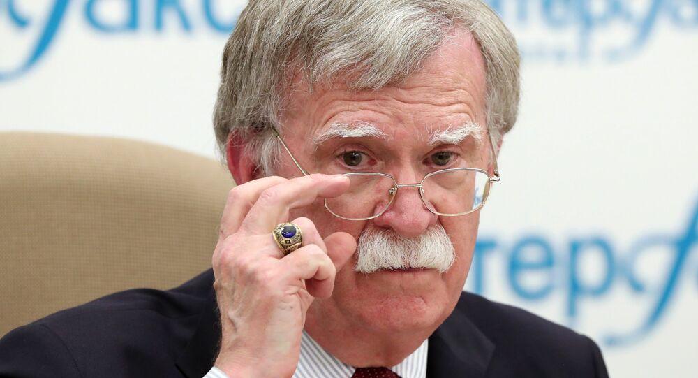 ABD Başkanı Donald Trump'ın Ulusal Güvenlik Danışmanı John Bolton